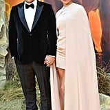Pictured: Vin Diesel and Paloma Jimenez at The Lion King premiere in London.