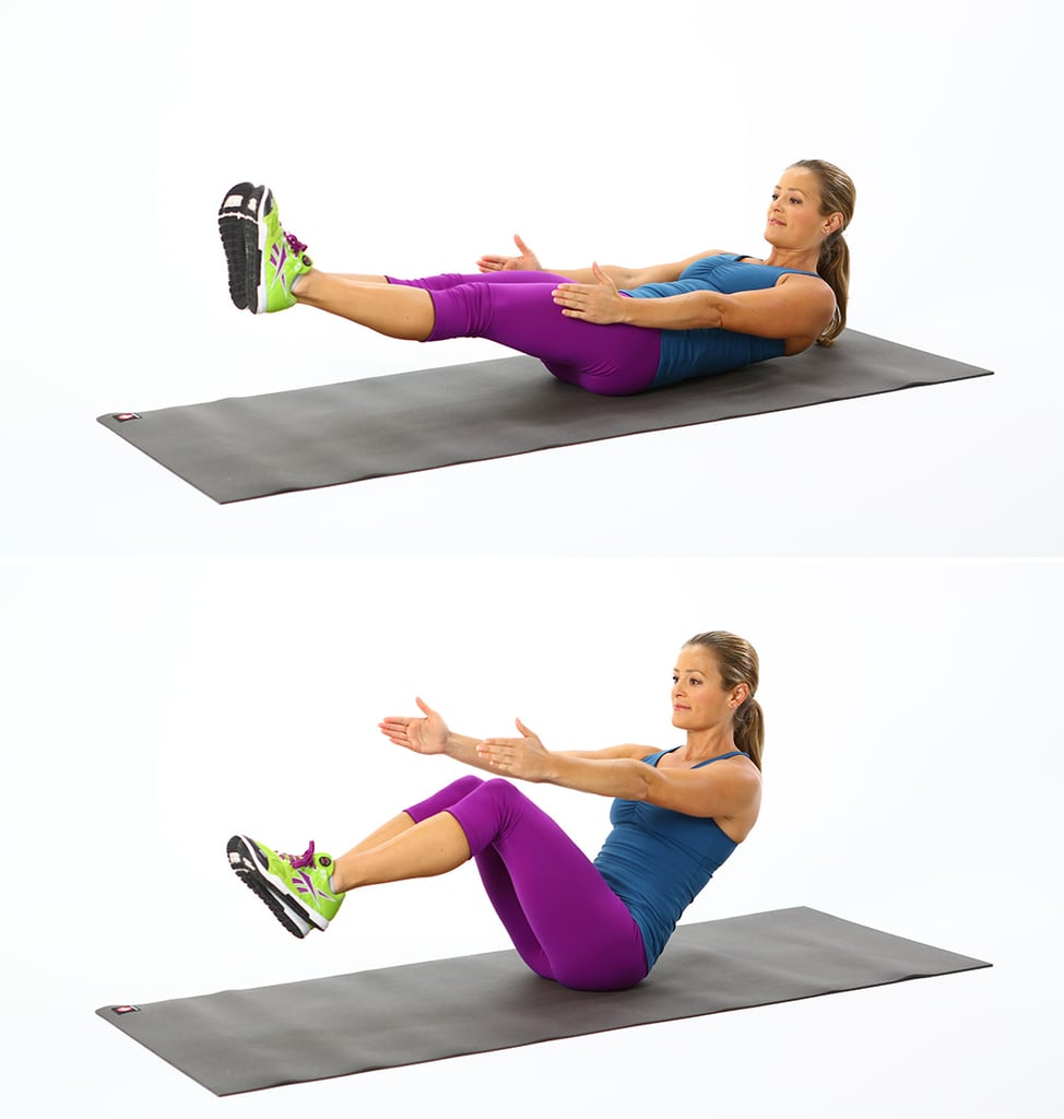 Circuit 1, Exercise 4: V-Sit
