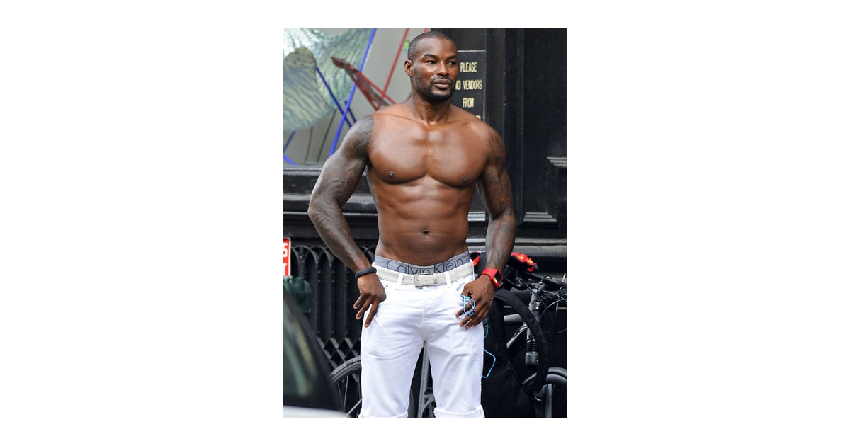 Tyson beckford shirtless cropped gallery popsugar for Tyson motors service hours