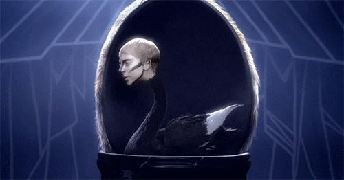 She Transformed Herself Into a Black Swan