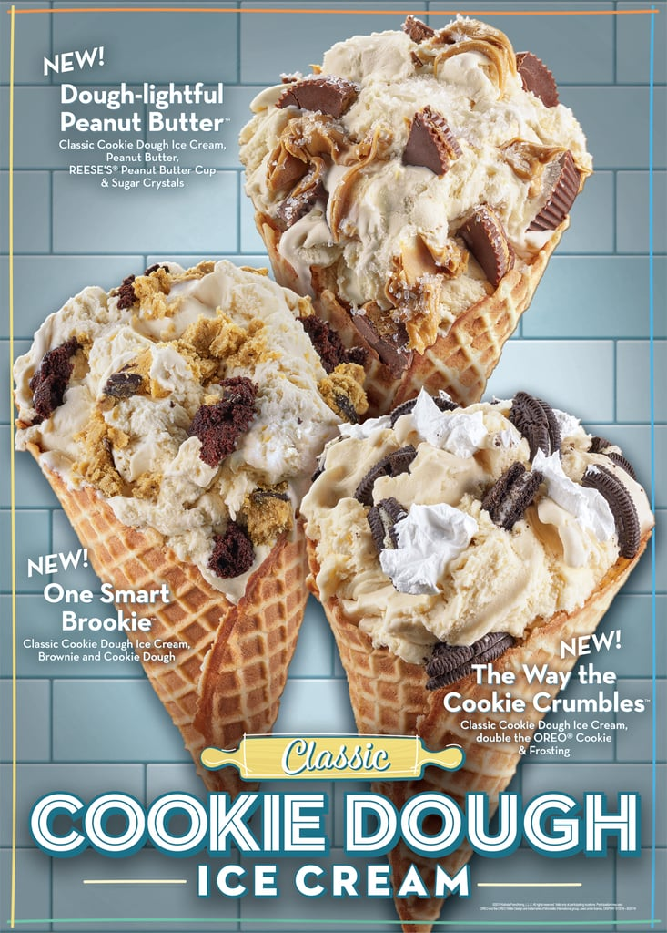 Dough My God! Cold Stone Released 3 New Cookie Dough Flavors Just in Time For Summer