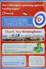 Trash Talk? British Recycling Leaflets Show Wrong Birmingham