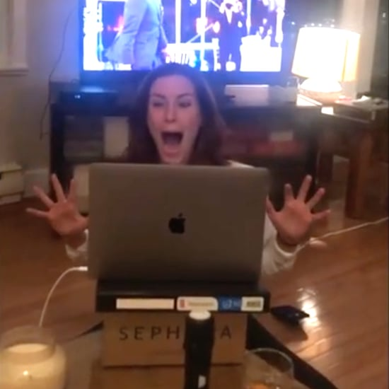 Watch Sarah Levy React to Schitt's Creek's Emmy Wins | Video