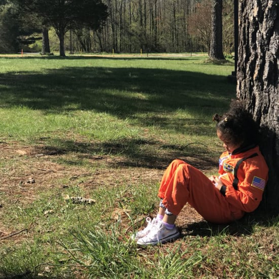 First Grader Participates in National School Walkout Alone