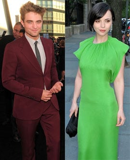 PopSugar Poll: Christina Ricci Gushes About Working With Rob — Good For Her or Little Bit Jealous?