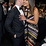 Nick Jonas and Priyanka Chopra at Learning Lab Ventures Gala
