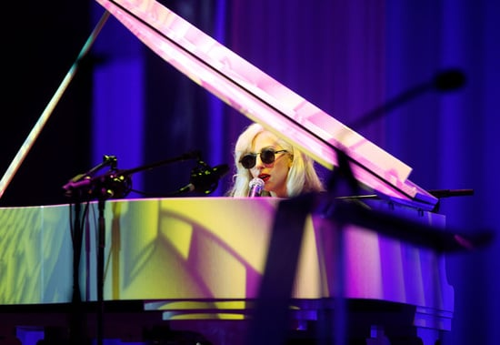 Lady Gaga performs at the 13th Annual National dinner of the Human Right Campaign