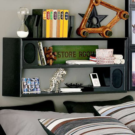 Basic Black Rockin' Speaker Shelf System
