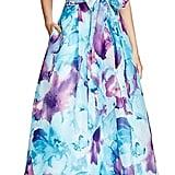 Carmen Marc Valvo Sleeveless Printed Gown ($416)