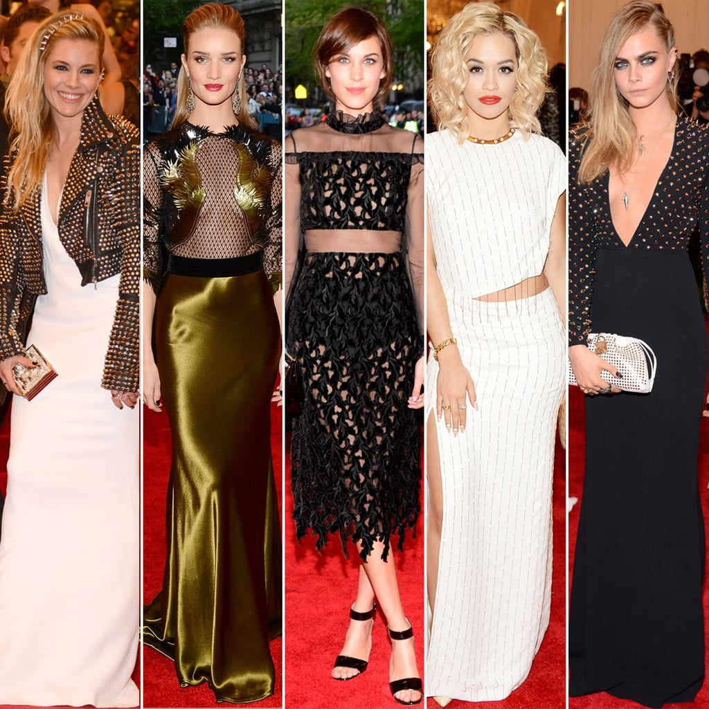 British Women at the 2013 Met Gala Pictures