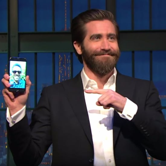 Jake Gyllenhaal FaceTiming Ryan Reynolds on Seth Meyers
