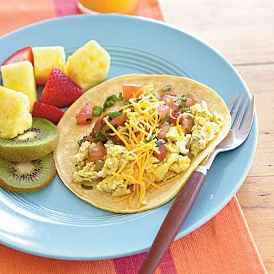 Cooking Light's Quick Breakfast Burritos