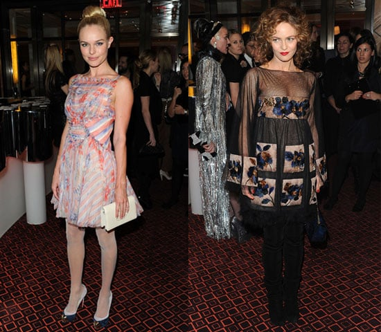 Vanessa Paradis and Kate Bosworth Wear Chanel