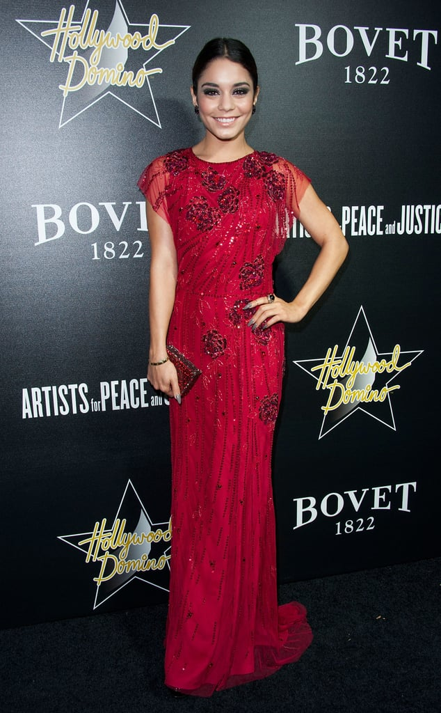 Vanessa Hudgens at the Hollywood Domino and Bovet 1822 Gala