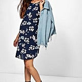 b7cf65fd6b3 ... Boohoo Maternity Sophie Floral Print Cap Sleeve Shift Dress ...