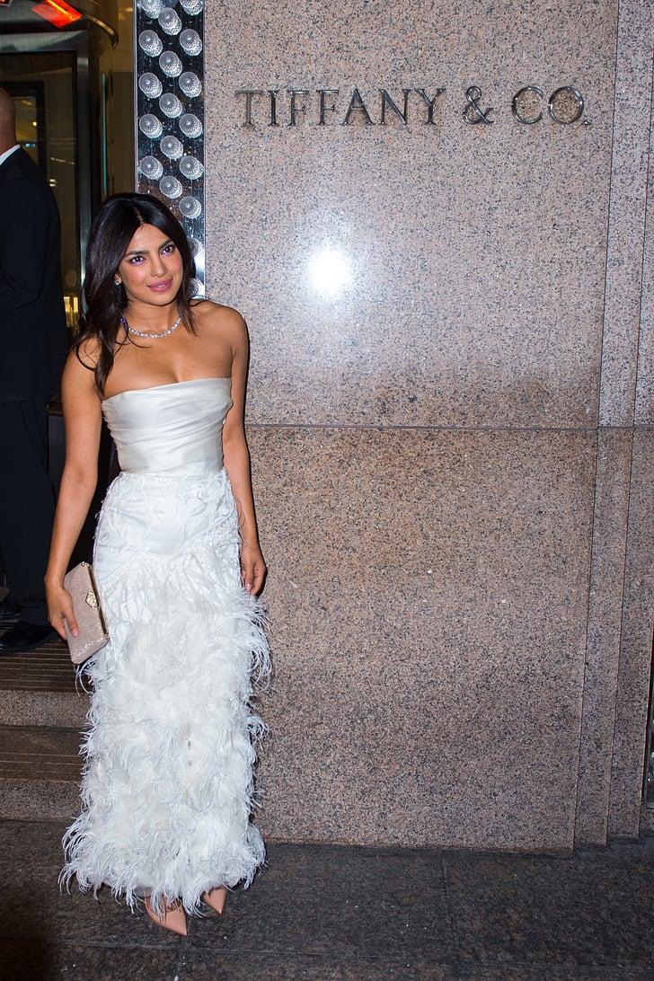 Something Blue? Priyanka Chopra's Bridal Shower Makeup Was All Purple