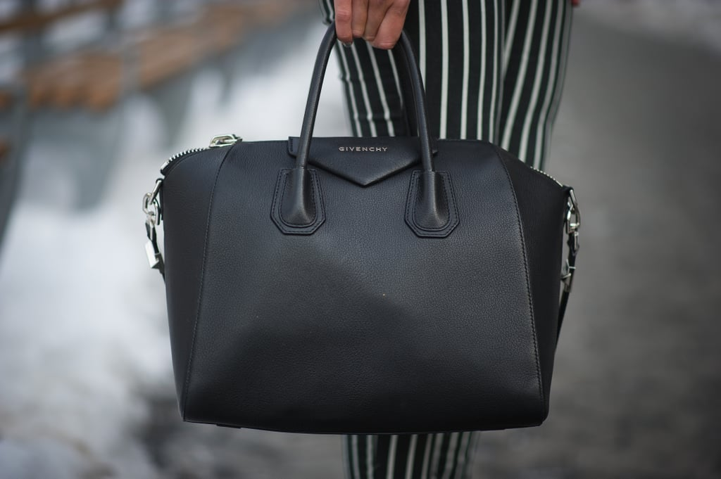 A roomy Givenchy tote always makes a perfect Fashion Week companion.
