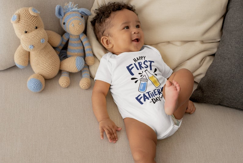 Baby Onesies To Celebrate First Father's Day