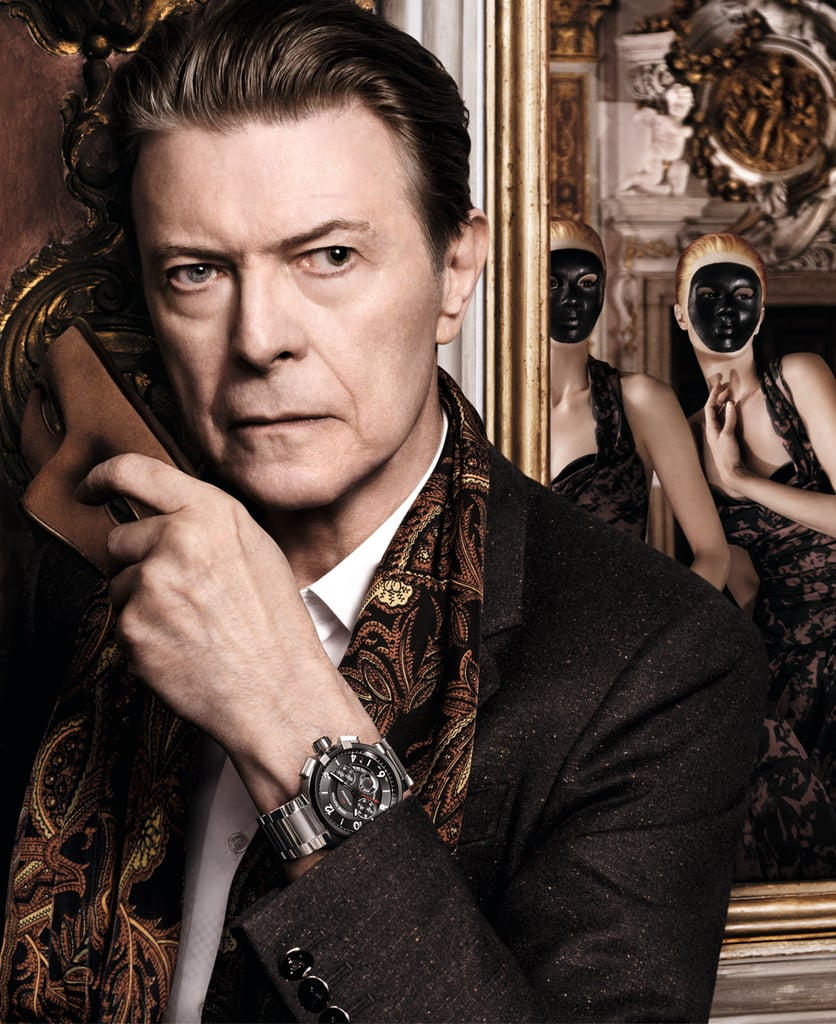 David Bowie photographed by David Sims. Photo courtesy of Louis Vuitton