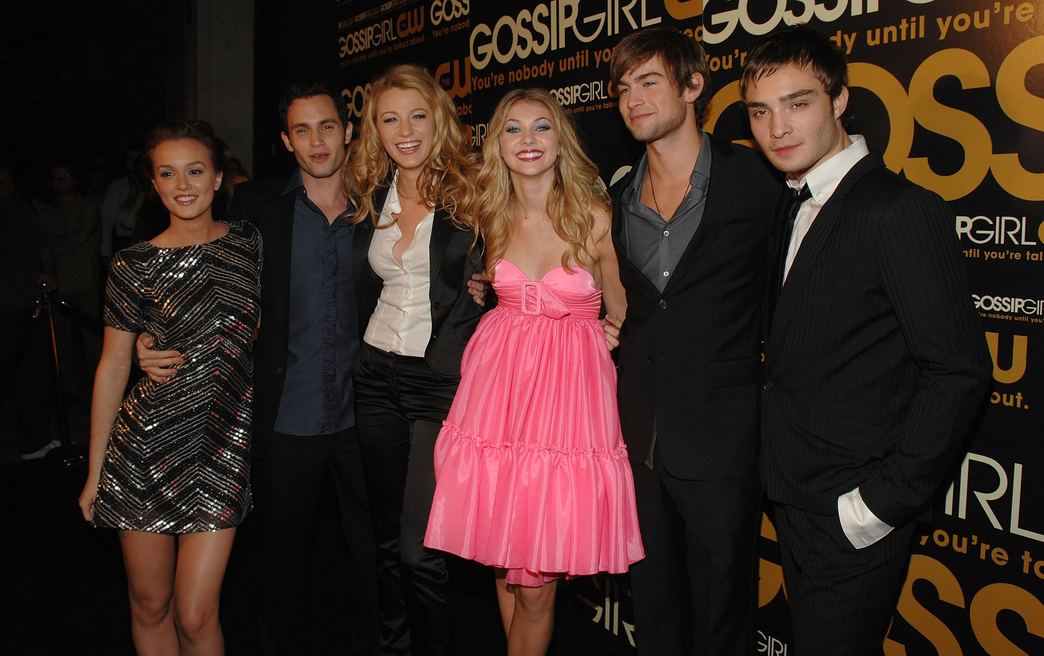The entire cast of Gossip Girl stepped out for their September 2007 premiere party in NYC.