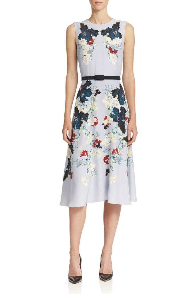 Erdem Mackenzie Belted Floral Dress ($1,585)