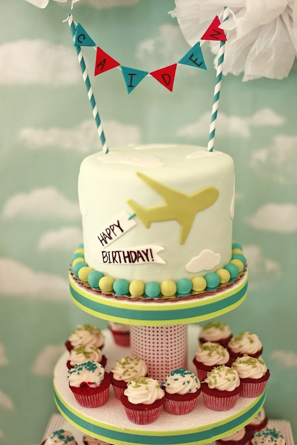 Airplane Birthday Party For a Little Boy POPSUGAR Moms
