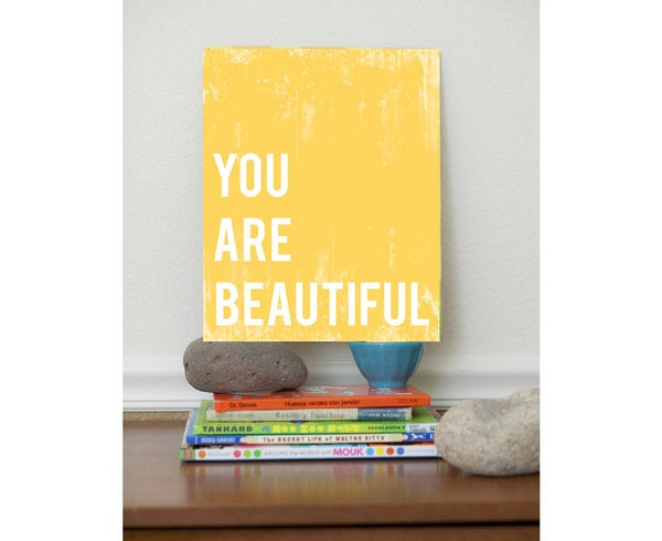 "Fresh Words Market ""You Are Beautiful"""