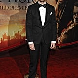 Toby Kebbell posed at the NYC premiere of War Horse.