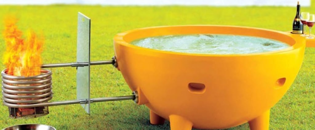 Alfi Portable Fire Hot Tub on Amazon