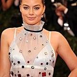 Margot Robbie Is Pretty in Prada at Her First Met Gala
