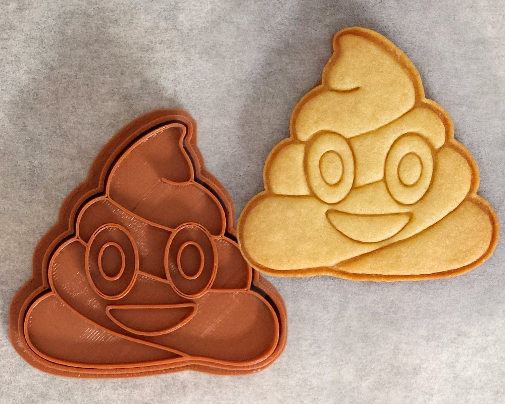 Poo emoji cookie cutter ($7)