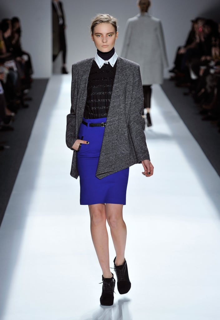 Bright Colors and Boyish Cuts Strut Down Yigal Azrouel's Fall 2011 Runway Show