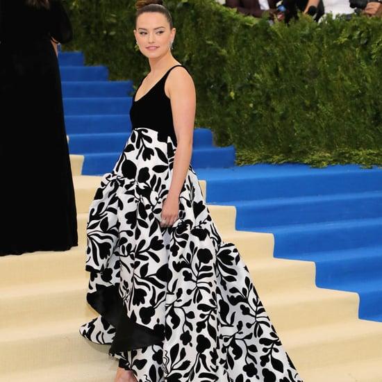 Daisy Ridley in Oscar de la Renta For Met Gala 2017