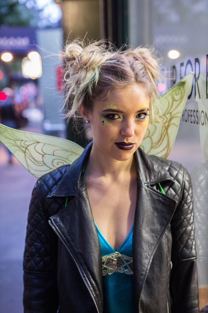 Tinker Bell Punk Halloween Makeup Popsugar Beauty