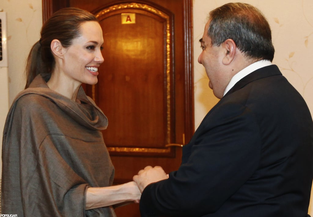 Angelina Jolie Heads to Iraq on Behalf of Syrian Refugees