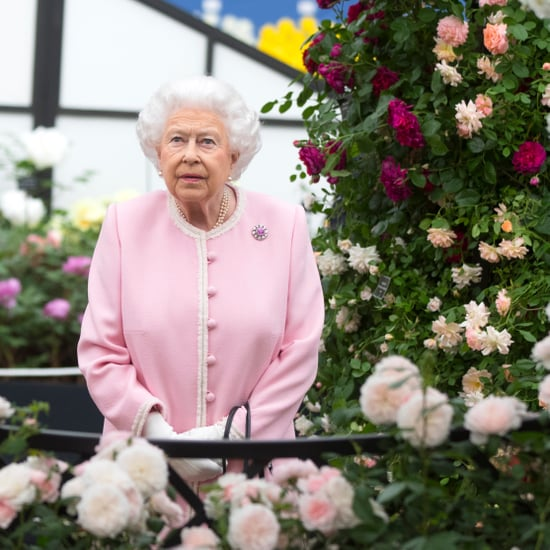 Queen Elizabeth II at the Chelsea Flower Show 2018
