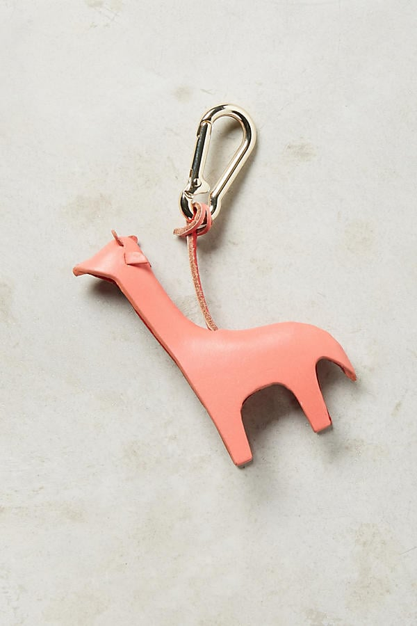 Leather Menagerie Keychain ($20)