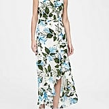 Floral Ruffle Wrap Maxi Dress
