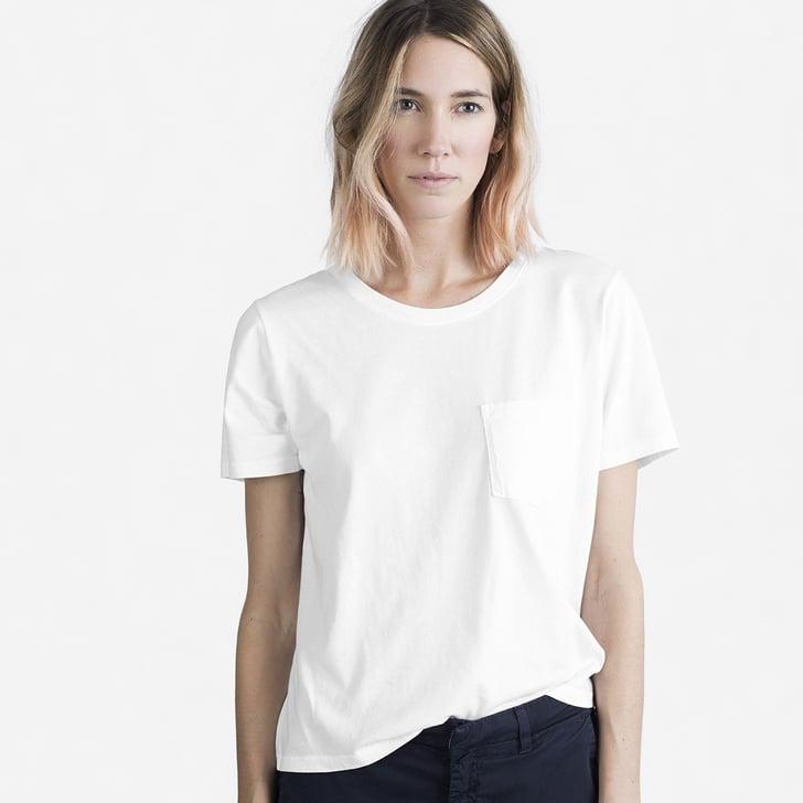Everlane Best White T Shirts Popsugar Fashion Photo 2