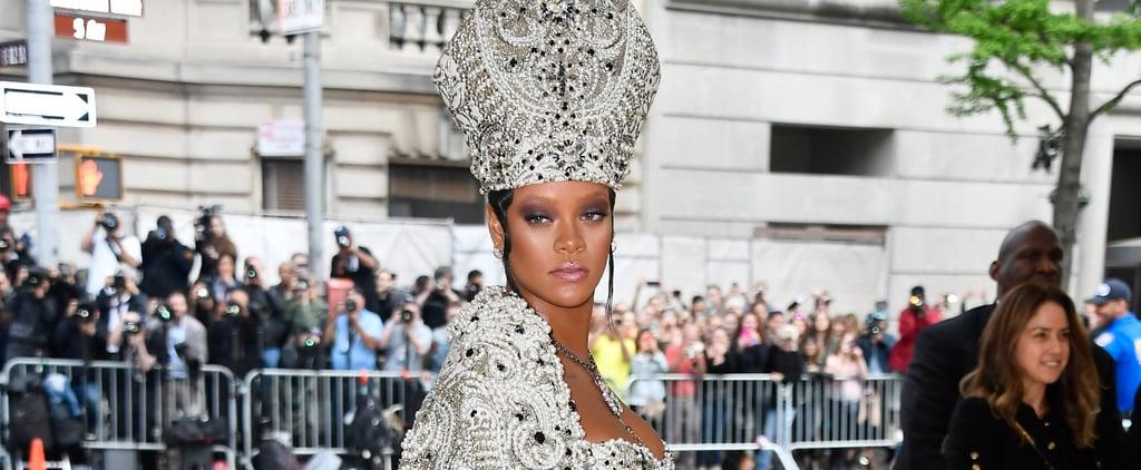 Rihanna Met Gala 2018 Hair and Makeup
