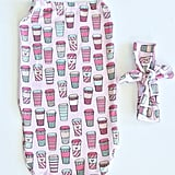 Coffee Baby Cocoon Swaddle Sack
