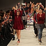 Models walk the runway during New Zealand Fashion Week 2011.