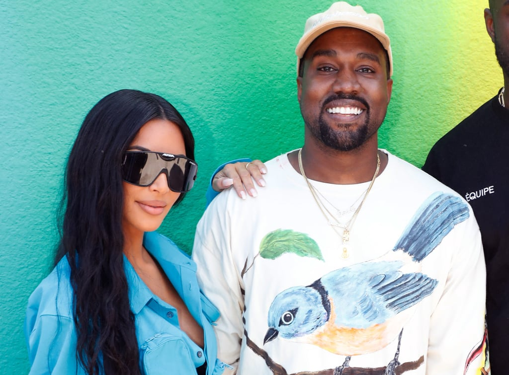 Kanye West Gives Kim Kardashian Flowers For Birthday 2018