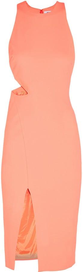 Elizabeth & James Giulia Cutout Stretch-Piqué Dress ($385)