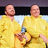 Of Course, They Had to Break Out Their Notorious Yellow Suits for the 2012 Comic-Con Panel in July 2012