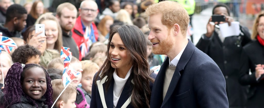 Meghan Markle Can't Resist Going in For the Hug as She and Prince Harry Meet a Group of Kids