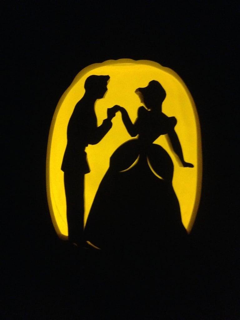 Bibbidi bobbidi boo your way to a romantic Cinderella pumpkin.