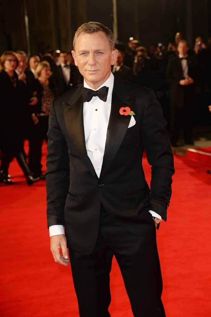 The world premiere of Spectre at the Royal Albert Hall in London on Monday was an extraspecial occasion as Kate Middleton, Prince William, and Prince Harry were in attendance alongside the stars from the film. The royal trio brought their best glamour, but Daniel Craig, Léa Seydoux, and Monica Bellucci were equally stunning during their walk down the red carpet. James Bond himself perfectly looked the part with his steely gaze, impeccable tux, and superhuman-like stance (all reminiscent of his sexy pose on the movie poster), and his gorgeous costars only further complemented his moment in the spotlight. Fellow Bond girls Naomie Harris and Stephanie Sigman were radiant as they walked the long press line solo.