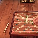 The singer had a Scrabble game on her dining room table, so where's our invite?