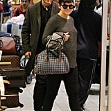Ginnifer and Josh walked together.